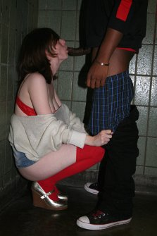 Interracial couples outdoor roleplay
